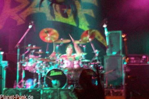 Rage - Mike Terrane, das Trommeltier