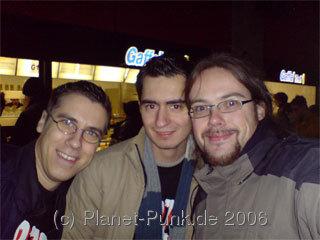 Christian, André und Michael