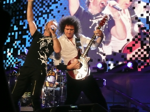 Paul Rodgers & Brian May (2)